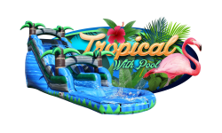 TROPICAL  w/pool