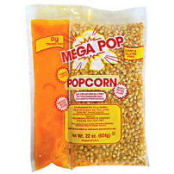 Popcorn Supplies for 50 Servings