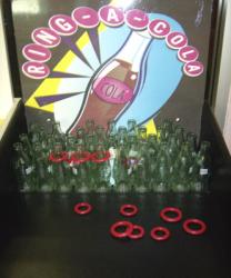 Coke Bottle Ring Toss