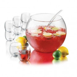 Glass Punch Bowl