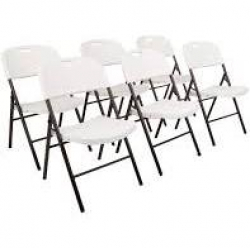 Chairs (White Plastic)