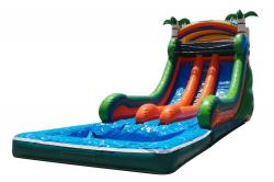 Splash Double Lane Water Slide