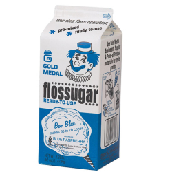 1/5 Gallon Blue Sugar $15.00
