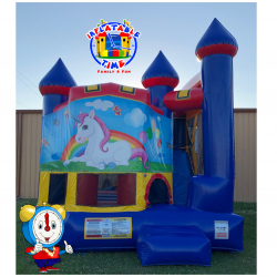 Unicorn Backyard Castle Combo