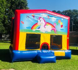 Unicorn Theme Fun Jump