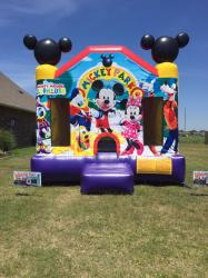 Mickey Park Bounce House $100