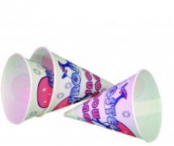 8oz Snow Cone Cups 25ct $3.00