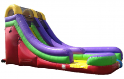 18 ft Water/Dry Slide (add $50 to use as water slide)