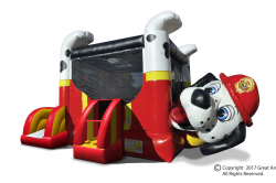Fire Dog Belly Bouncer Combo