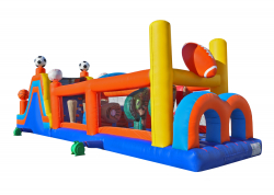 Sports Obstacle Course 50 ft