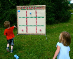 Tic Tac Toe Toss (velcro) $50 off with inflatable rental