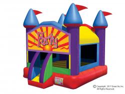 Party Theme Large Castle Bouncer