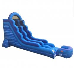 Blue Marble 18 foot slide