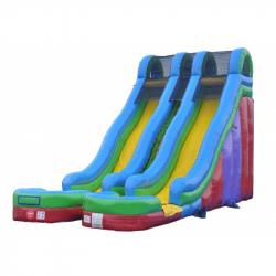 24 Foot Double Retro Slide
