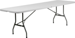 White Square tables 8 foot