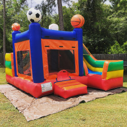Sports Court Bounce House