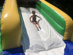Turbo Splash Water Slide