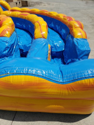 Fire and Ice Water Slide