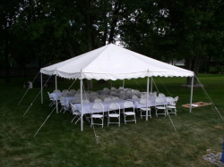 20x20 Rope Tent PACKAGE