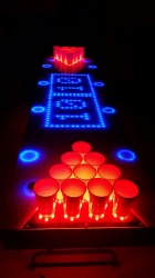Interactive LED Pong Table