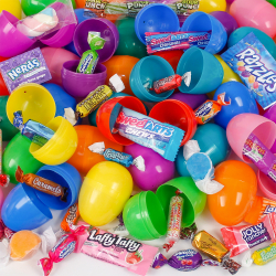 25 Candy Filled Easter Eggs