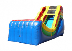 17' Halfpipe Water Slide