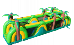 40' Tropical Obstacle Course