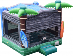 ORIGINAL TROPICAL BOUNCE HOUSE
