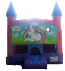 UNICORN PINK CASTLE