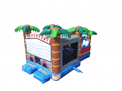 ORIGINAL SHARK BOUNCER + OBSTACLE