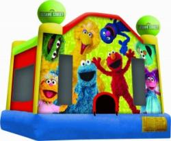 15x15 Sesame Street Jupiter Jump