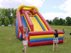 24FT Inflatable Mega Slide