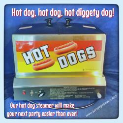 Hot Dog Steamer Concession