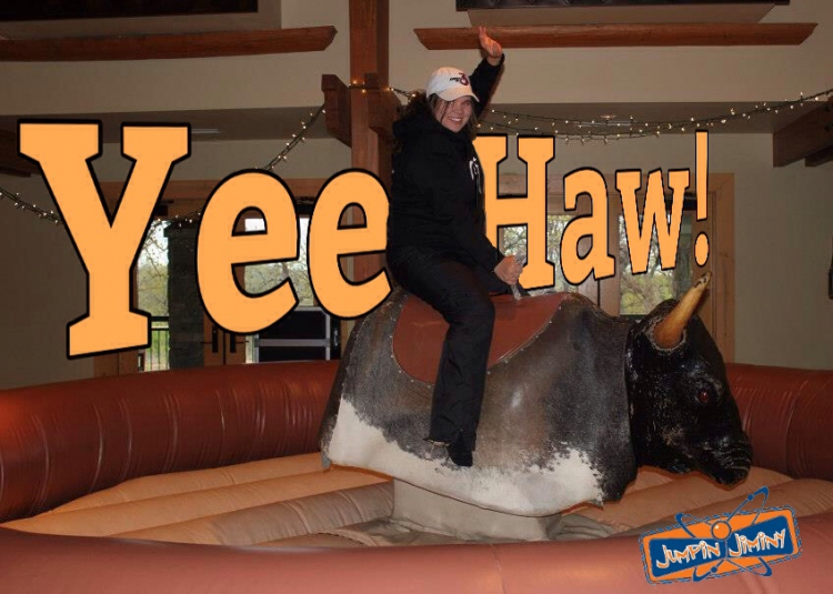 Mechanical Bull Jumpin Jiminy Make Your Events Awesome