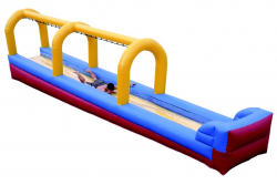 Slip & Dip Inflatable Water Slide