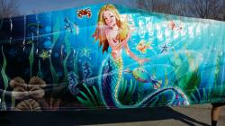 Mermaid Banner 15x15 Module Jupiter Jump