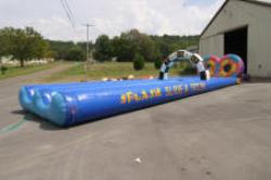 Slide Splash and Score water slide
