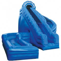 Corkscrew Inflatable Waterslide