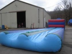 Slide and Splash water slide