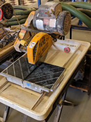 Tile Saw Wet 10