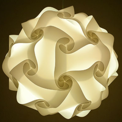 Puzzle Light Ball White