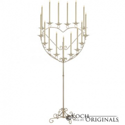 Heart Candelabrum 17-Candle