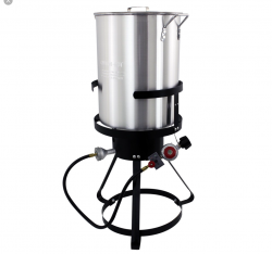 Fish Fryer with Burner