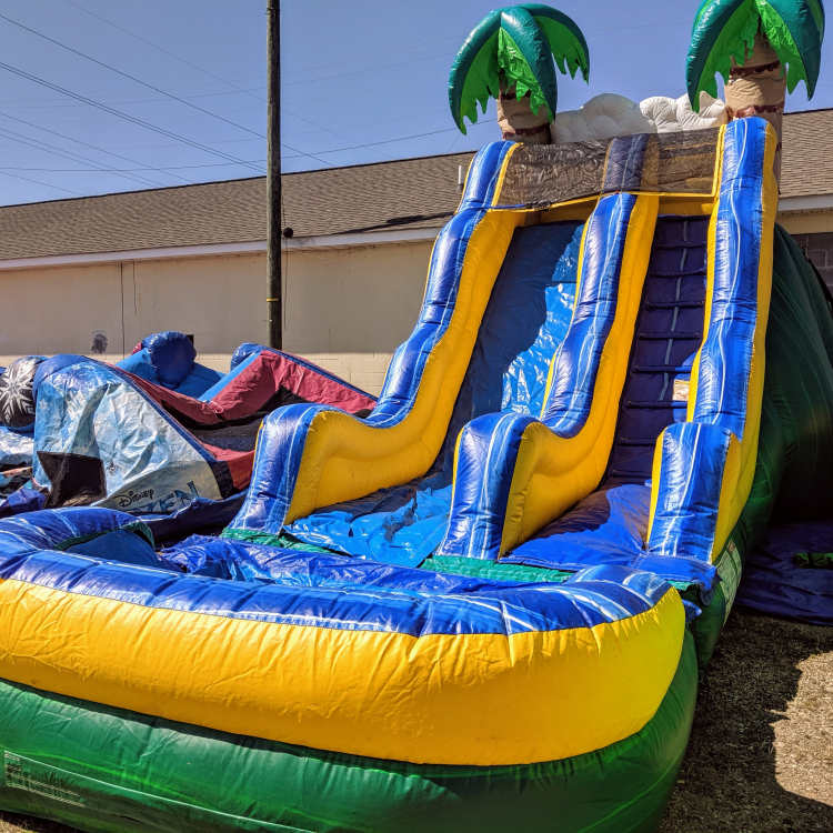 Tropical Waterslide Just Party And Equipment Rental