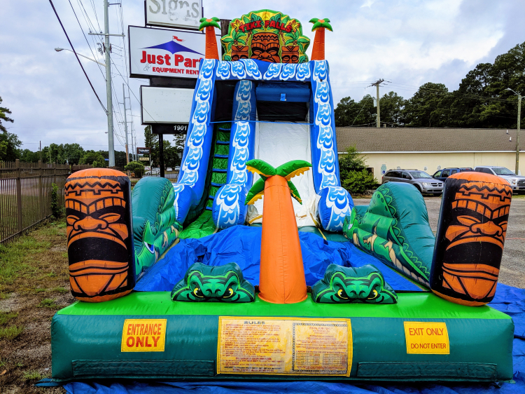 Tiki Falls Just Party And Equipment Rental Fayetteville Nc