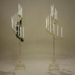 Spiral 15-Candle Candelabra