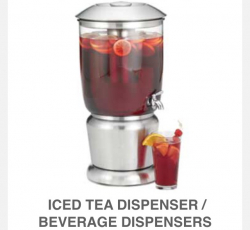 Stainless Drink Dispenser- 5 Gal