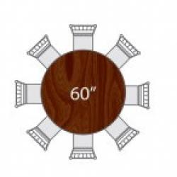 60 Round Plastic