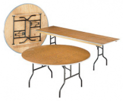 8 Wood Table Rectangle
