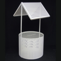 Wicker Wishing Well